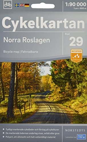 Roslagen North cycling map 2018