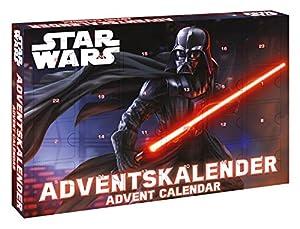 Craze 52106 - Calendrier de l'avent Star Wars - contient Unter autre Porte-clés, Slap Snap bandes et COOLS accessoires - contient 24 surprises - Convient aux enfants de plus de trois années - Dimensions : env. 45 x 34,5 x 4 cm - exclusif contenu pour...