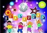 LOL Einladungskarten für Kindergeburtstag 10 Stück im Set Smiley Emoji Disco-Party für Jungen und Mädchen Kinder. Hashtag #