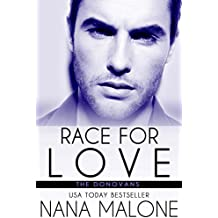 Race For Love: New Adult Romance (The Donovans Book 3) (English Edition)