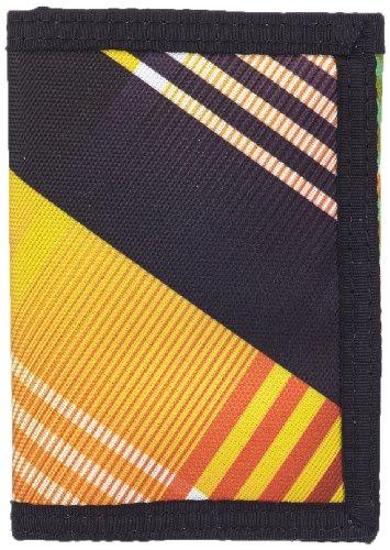 Hurley Münzbörse Honor Roll Tri-fold Mehrfarbig (Black Neon Green) MAX0000080