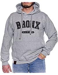Dirty Ray Bronx Sweat homme avec capuche B17