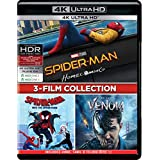 3-Movies Collection: Spider-Man: Homecoming + Spider-Man: Into the Spider-Verse + Venom