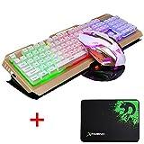 Lexonelec Gaming tastiera e mouse set Combo cablata V1 LED retroilluminato...