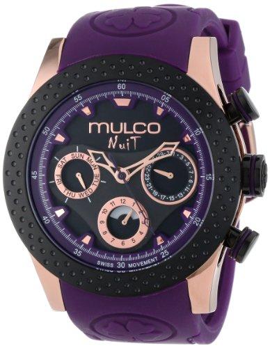 MULCO Unisex MW5-1962-087 Analogique cron—grafo Swiss Reloj