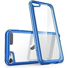 i-Blason Halo Series - Funda Transparente para APPLE iPod touch 6/5, azul