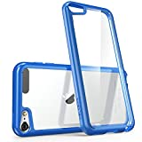 i-Blason Halo Series - Funda Transparente para APPLE iPod touch 6/5 , azul