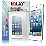 Kolay 6 Pack Screen Protector & Cleaning Cloth Kit for Apple iPod Touch 5