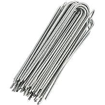 GardenMate® 100 Erdanker VERZINKT aus Stahldraht 200mm, 25mm breit, Ø 3,8mm - Für extrem harte Böden