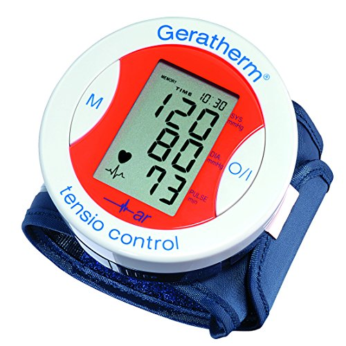 Geratherm  tensio control Digitales Handgelenk-Blutdruckmessgerät - rot