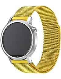 TStrap Inteligente Correa de Reloj, Smart Watch Reemplazo Milanese Banda/Pulsera/Band /Strap de Recambio/5 Colores 20mm