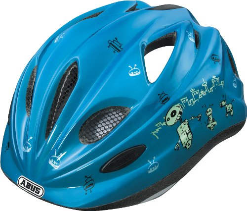 Preisvergleich Produktbild ABUS Kinder Fahrradhelm Chilly, Blue, 52-57 cm, 48047