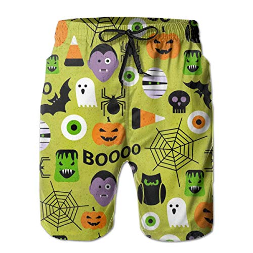 ck Dry Badehose Shorts Beachwear-Halloween Party Muster XL ()