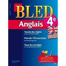 Cahier Bled - Anglais 4ème - 13-14 ans by André Michoux (2012-01-11)