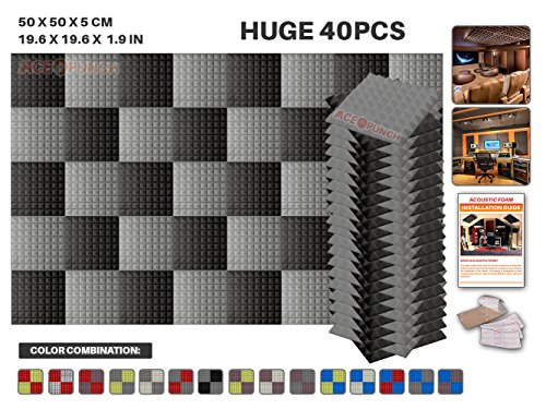 ace-punch-40-pack-2-colors-gray-and-black-pyramid-acoustic-foam-panel-diy-design-studio-soundproofin