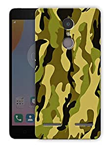 """Humor Gang camouflage army pattern 13 Printed Designer Mobile Back Cover For """"Lenovo k6 Power"""" (3D, Matte Finish, Premium Quality, Protective Snap On Slim Hard Phone Case, Multi Color)"""