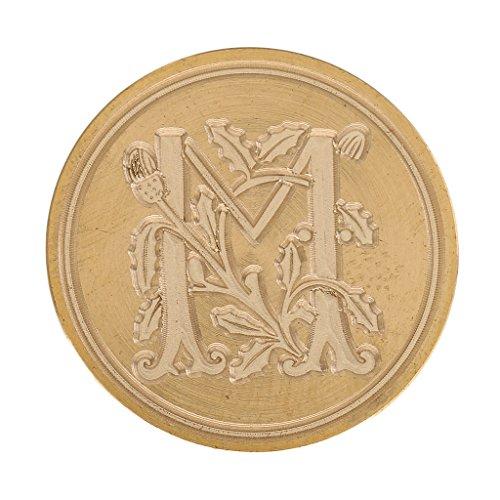 z 26 Brief Initial Wachs Siegel Stempel Post Hochzeit Einladung Dekor - M ()
