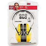 3M Peltor Optime I Kapselgehörschützer gelb / Gehörschutz mit verstellbarem Kopfbügel für Lärm bis 98dB / SNR 27 Hörschutz mit hohem Tragekomfort & geringem Gewicht