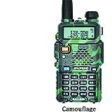 QUARK Baofeng UV-5R walkie Talkie Professionale CB Stazione Radio Baofeng UV5R ricetrasmettitore 5W VHF UHF Portatile UV 5R Caccia prosciutto Radio,Green