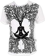 Sure heren T-shirt Wicca Art Guru Magie Yoga Goa Trance