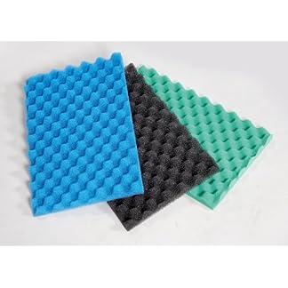 """pond filter foam layers medium- 24"""" x 17"""" coarse, medium and fine. Pond Filter Foam Layers Medium- 24″ x 17″ Coarse, Medium and Fine. 51XrQIEOj3L"""