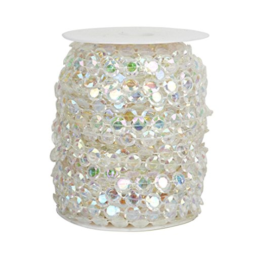 Cortina de Acrílico Cristal Perlas para Colgar para Decoraciones de B
