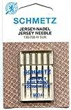 Schmetz Jersey/Ballpoint Needle Range (Packs of 5) - Various Sizes (90/14 (Thickest)) by Schmetz