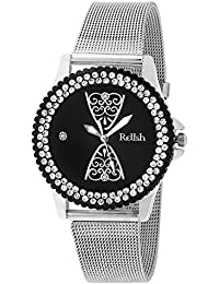 Relish RE-L045BS Metal Analog Watches for Girls, Women