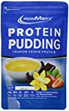 IronMaxx Protein Pudding mit 86% Eiweiß – Vanillepudding – Kohlenhydratarm – Fettarm – Zubereitung ohne Milch – Für Muskelaufbau und Muskelerhalt – 1x300g