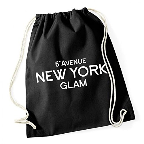 Certified Freak 5th Avenue New York Glam Gymsack Black