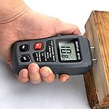 Espeedy 0-99.9% Digital Holz Feuchtigkeitsmesser Feuchtigkeitstester Holz Damp Detector Hygrometer 2Pins Test