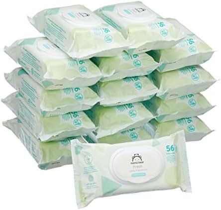 Mama Bear Fresh Lingettes parfumées pour bébé - (840 lingettes)