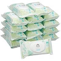 Marchio Amazon -  Mama Bear Fresh Salviette umidificate per bebè – 15 confezioni (840 salviette)