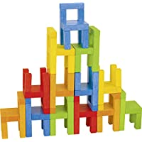 Goki 56929 - Balancier- und Stapelspiel - Stühle