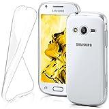 Samsung Galaxy Ace 4 Hülle Silikon Transparent Klar
