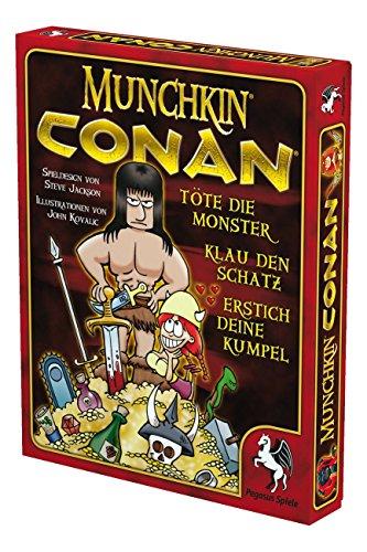 Pegasus-Spiele-17230G-Munchkin-Conan