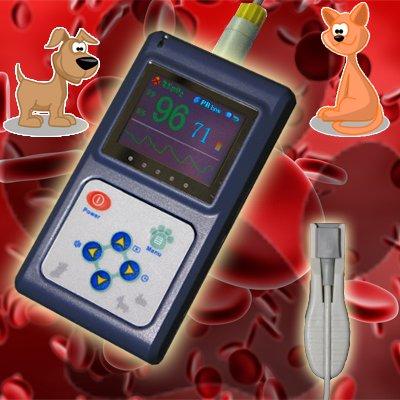 Veterinär Tierarzt Pulsoxymeter Pulsmesser Pulsfrequenz Oxymeter EKG Praxis Labor SPO2 OM8