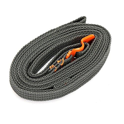 Portable liaison sangle corde extracteur corde réglable avec crochet boucle en acier inoxydable