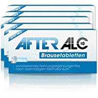 AfterAlc en un práctico paquete de 5 cajas (5x2 pastillas efervescentes) | La revitalización