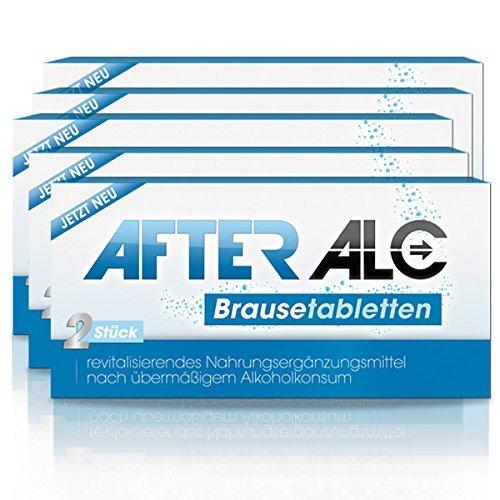 AfterAlc im praktischen 5er Pack (5x2 Brausetabeltten) (5er Pack) 2