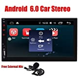 Doppel-DIN-Android 6.0 Quad CoreHead Einheit -EinCar 2 L?rm-Auto-Stereoanlage mit 7 '' Touch Screen GPS-Sat Navi Unterst¨¹tzung Navigationssystem Bluetooth 4.0 Autoradio Freisprecheinrichtung WIFI 4G Dongle FM AM RDS Radio-1080P Video Auto-Spieler