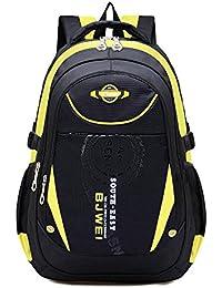be8c27cf1b865 Unisex - Kinder Rucksack Schulrucksack Wasserfester Rucksack für Jungen  Mädchen Schüler Daypack Schultasche Grundschule Backpack…