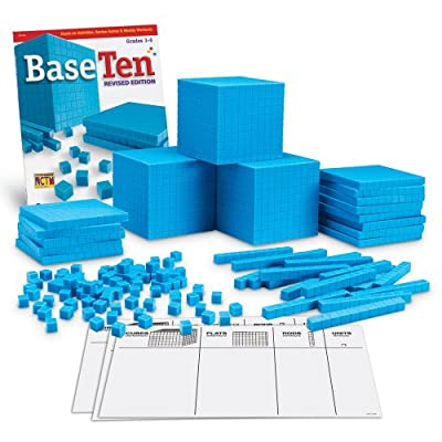 Learning Resources Grooved Plastic Base 10-Class Set by Learning Resources