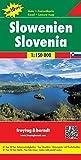 Eslovenia, mapa de carreteras. Escala 1:150.000. Freytag & Berndt.: Wegenkaart 1:150 000 (Auto...
