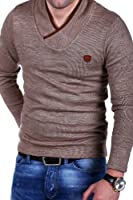 MT Styles - E-1150 - Pull-over en tricot fin - col châle