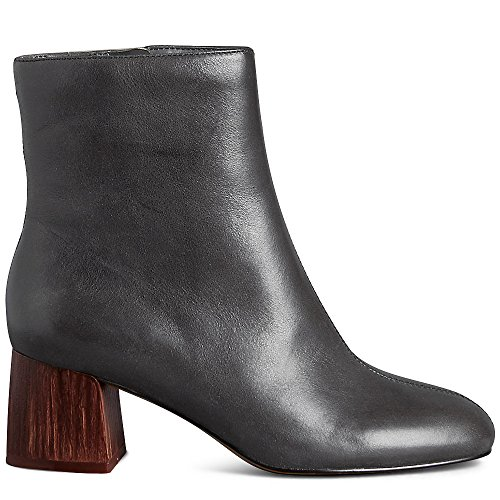 Marks & Spencer AUTORAPH T022805 Leather Wooden Heel Ankle Boots RRP £79...