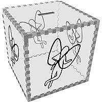 Preisvergleich für Azeeda Groß 'Fee' Klar Sparbüchse / Spardose (MB00071560)