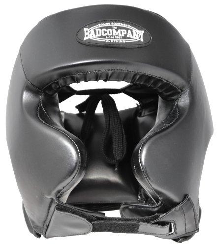 Pro Contest Vinyl Kopfschutz zum boxen Boxsack schwarz Abbildung 3