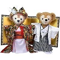 Duffy Wedding snow-white ruffle dress & gray suit set No.5 (japan import)