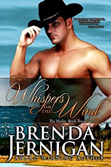 Whispers on the Wind:  Western Historical Romance (Misfit series Book 3) by [Jernigan, Brenda]